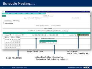 NEC Meeting Center (NMC) Presentation