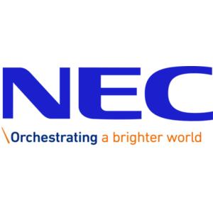 NEC logo with tagline