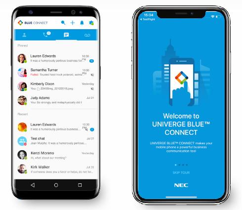 Univerge Blue Mobile App